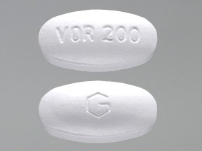 Voriconazole 200 Mg 30 Tabs By Greenstone Ltd.