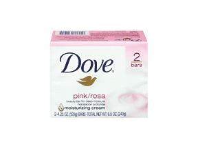 Dove Bar Soap Pink Rosa 2X4.25 Oz.