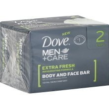 Image 0 of Dove Men Bar Soap Extra Fresh 2x4.25 Oz.