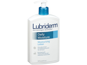 Lubriderm Daily Moisturizer Scented Lotion 16 Oz