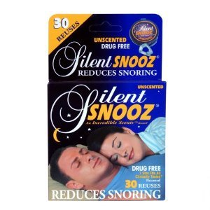 Image 0 of Silent Snooz Snore Relief - Unscented (30 Reuses)