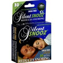 Image 0 of Silent Snooz Snore Relief - Eucalyptus (30 Reuses)