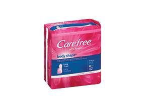 Image 0 of Carefree Body Shape Long Unscented 42 Each