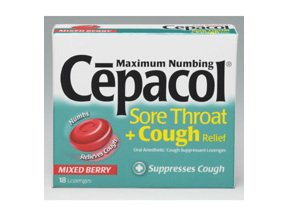 Image 0 of Cepacol Ultra Lozenges 5-7.5mg Mixed Berry 18ct