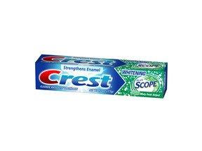 Crest Plus Scope Toothpaste Minty Fresh 6.2 Oz.