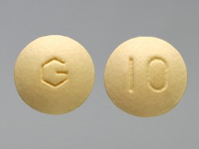 Donepezil Hcl 10 mg Tablets 10X10 Mfg. By Greenstone Limited