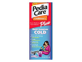 Image 0 of PediaCare Childrens Fever Reducer/Pain Reliever Plus Multi-Symptom Cold - 4 OZ