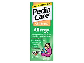 PediaCare Allergy Cherry Liquid 4 oz