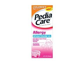 PediaCare Allergy Bubblegum Liquid 4 oz