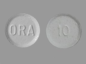 Image 0 of Orapred ODT 10 mg Tablets 8X6 Each Mfg. By Concordia Pharmaceuticals Inc.