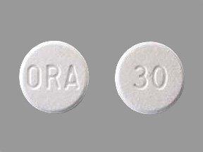 Image 0 of Orapred ODT 30 Mg 48 Tabs By Concordia Pharma