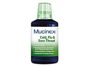 Mucinex Multi Symptoms for Cold Flu & Sore Throat 6 oz