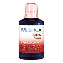 Mucinex Multi Symptoms for Cold & Sinus 6 Oz