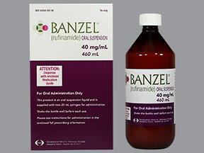 Banzel 40mg/ML Suspension 460 Ml By Eisai Inc