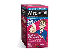 Image 0 of Airborne Immune Chew able Tablets Berry 32