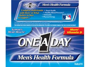 One A Day Mens Health Formula 200 tabs
