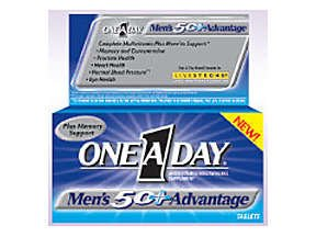 One A Day Mens 50+ Advantage 50 Tabs