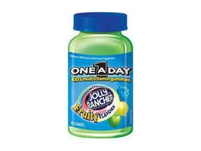 One A Day Jolly Ranchers Chewable 60 Fruity Flavors