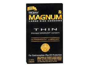 Trojan Magnum Thin Ultra smooth 12 condoms