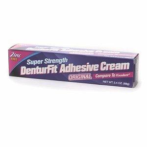 Denturefit Adhesive Cream 2.4 oz