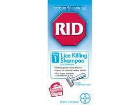 Rid Shampoo 8 Oz with Comb