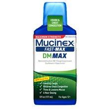 Mucinex Fast Max DM Max Liquid 6 oz