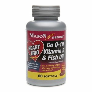 Image 0 of Mason Natural Heart Trio, Co Q-10, Vitamin E & Fish Oil, Softgels 60