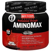 Image 0 of Six Star Pro Nutrition Aminomax Tropical Fruit 9.1 Oz