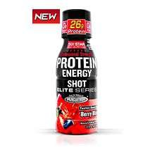 Image 0 of Six Star Pro Nutrition Protein Energy Shot Berry 2.5 Oz