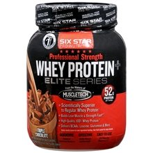 Image 0 of Six Star Pro Nutrition Whey protein Triple Chocolate Supreme 32 oz