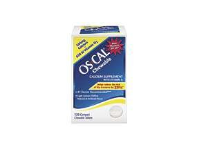 Image 0 of Os-Cal 500 + D Chewables Lite Lemon 120 Ct.