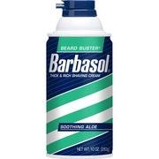 Barbasol Shave Cream Aloe Foam 10 Oz