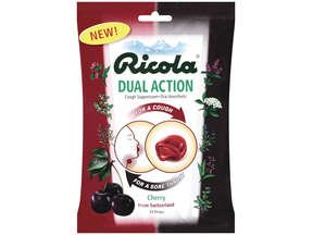 Image 0 of Ricola Dual Action Cherry 8.7 Mg 19 Ea