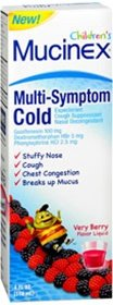 Mucinex Children s Multi Symptom Cold Liquid Very Berry 4 oz