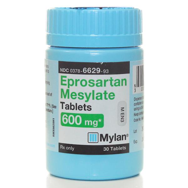 Eprosartan Generic Teveten Hct 600-25 Mg Tabs 30 By Mylan Pharma