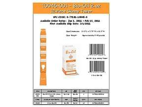 Image 0 of Bio-Oil Unscented 12x2 oz
