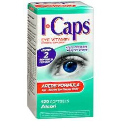 Icaps Areds 120 Soft Gels
