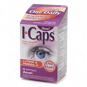 Image 0 of Icaps Lutein Omega-3 Soft Gels 30