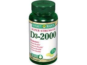 Image 0 of Nature's Bounty Vitamin D2000 IU Soft Gel Tablet 100