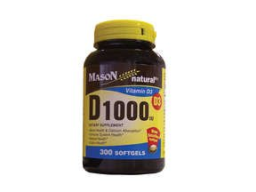 Image 0 of Mason Natural, Vitamin D 1000 IU, 300 Softgels