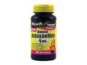 Image 0 of Mason Natural Astaxanthin 4 mg, Softgels, 60 Ea