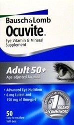 Ocuvite Adult 50+ GC 30 Soft Gel Capsules.
