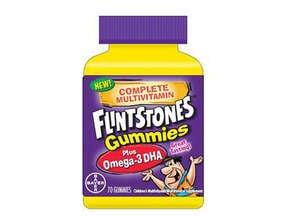 Flintstones Childrens Multivitamin Plus Omega-3 DHA, Gummies 70 Each