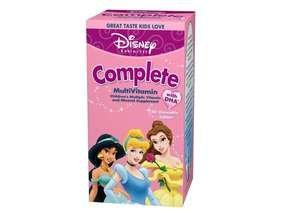 Disney Multivitamins Complete Chewable Tablets Princesses - 60 Ct