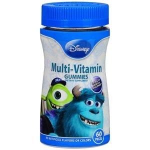 Disney Monsters Multivitamin Gummies 60 ct
