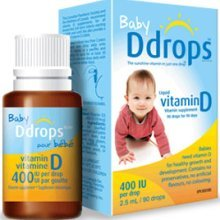 Image 0 of Vitamin D Baby Ddrops 400IU 90 Drops 0.08 Oz