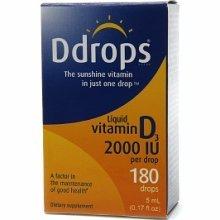 Ddrops Vit D 2000 IU 180 Drops .17 oz