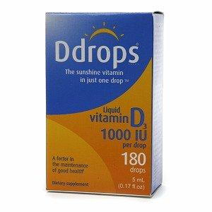 Image 0 of Ddrops Vitamin D 1000iu, .17 fl oz