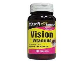 Image 0 of Mason Natural Vision Vitamins High Potency Antioxidant Tablets - 60 Ea