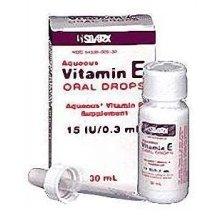 Vitamin e drops